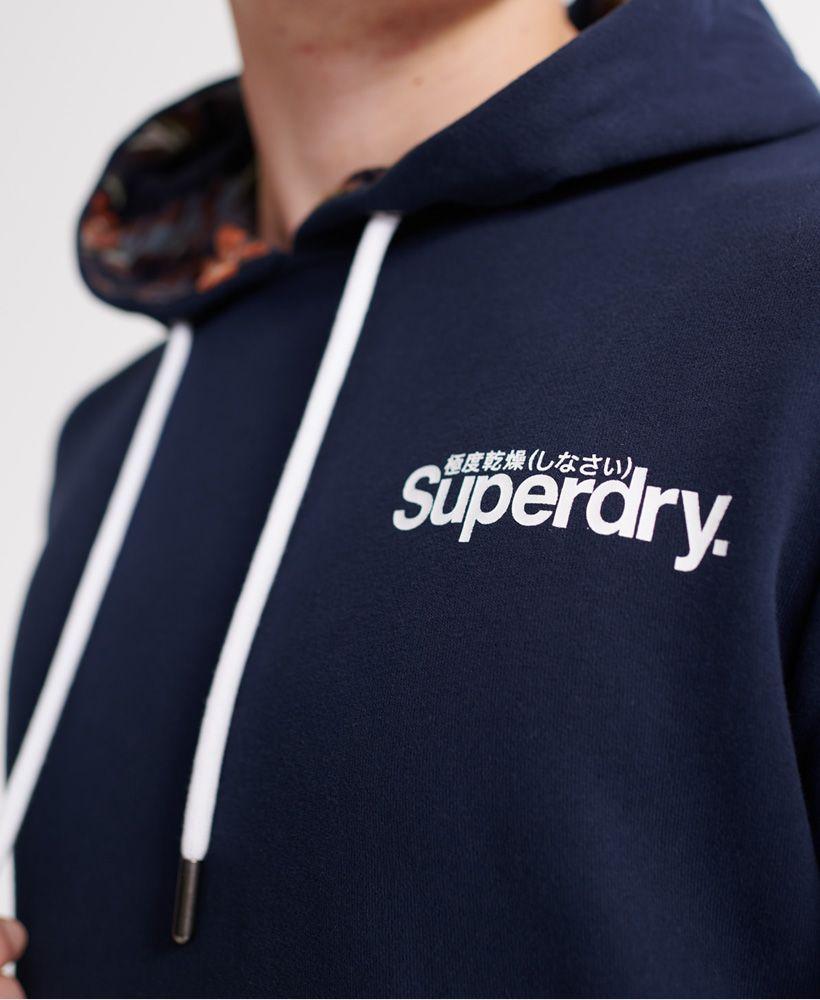 Superdry Super 5's Loopback Hoodie