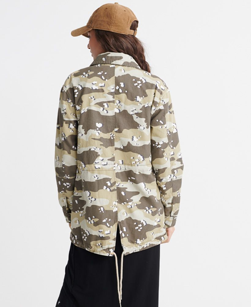Superdry All Over Print Desert Rookie Jacket