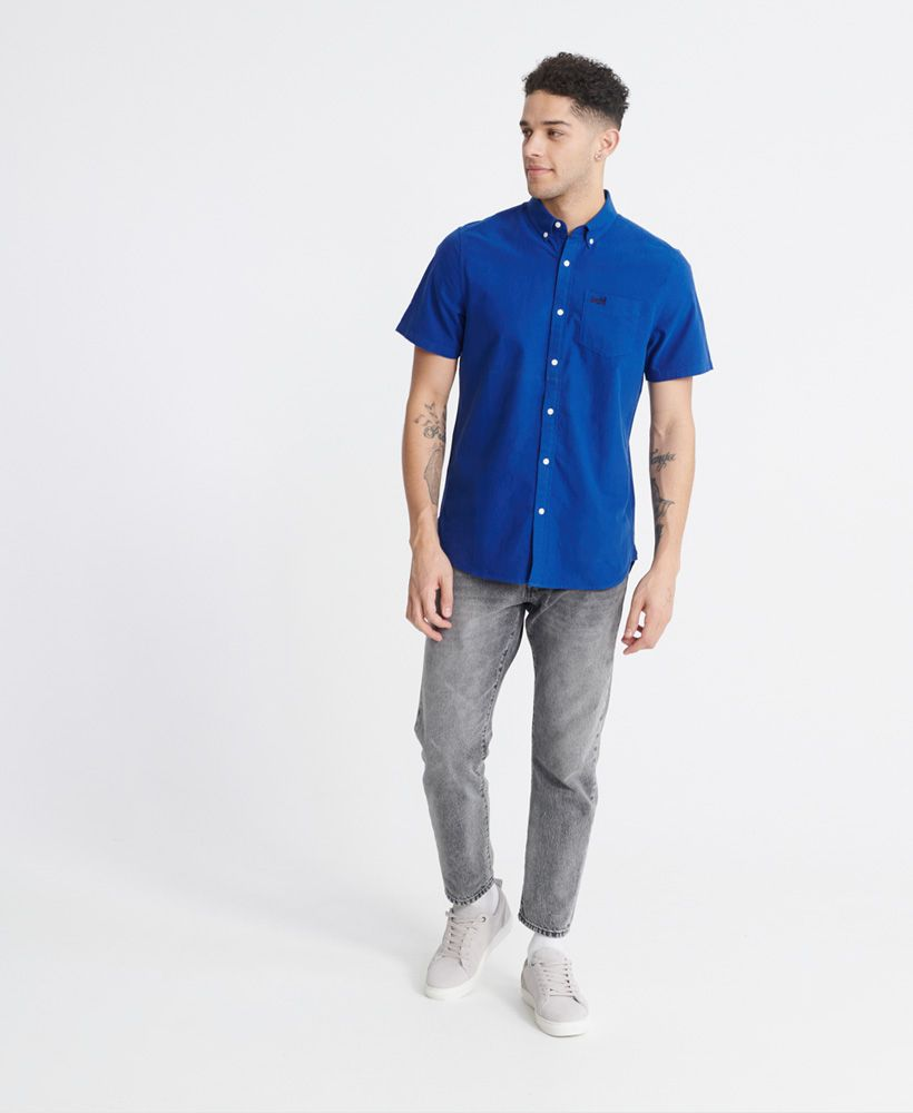 Superdry Classic University Oxford Short Sleeved Shirt