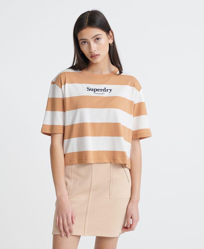Superdry Harper Stripe Boxy T-Shirt