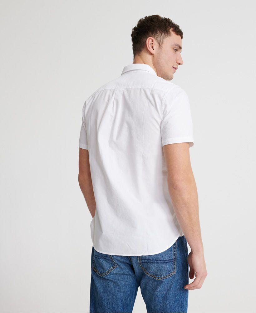 Superdry Classic University Oxford Short Sleeved Shirt