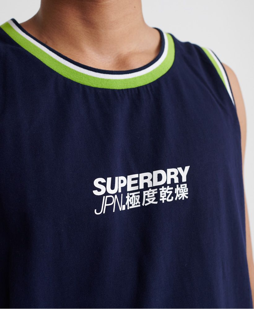 Superdry Future Mascot Airtex Vest Top