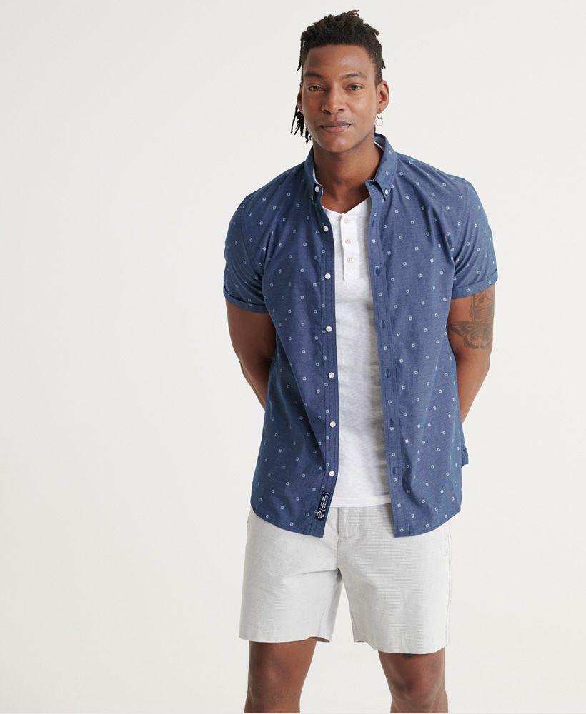 Superdry Classic Shoreditch Print Short Sleeved Shirt
