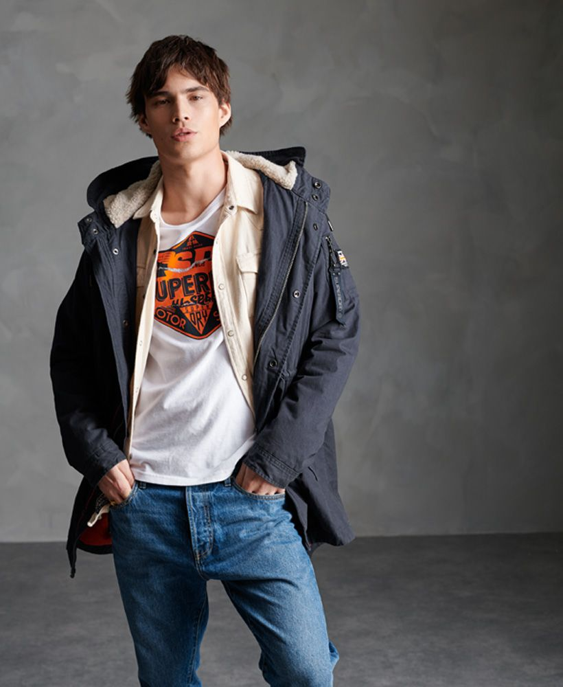 Superdry Winter Aviator Parka Jacket