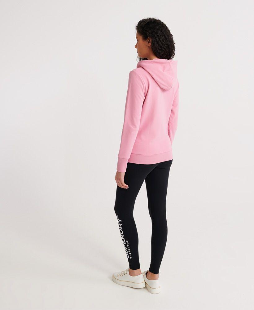 Superdry Swiss Logo unbrushed  Zip hoodie