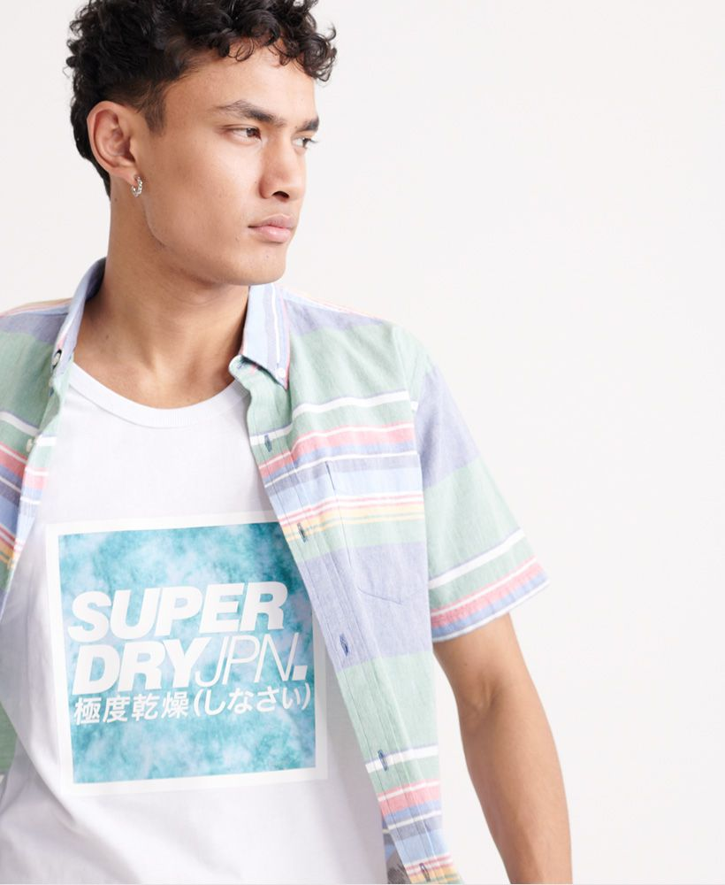 Superdry Japan Tie Dye Block Vest Top
