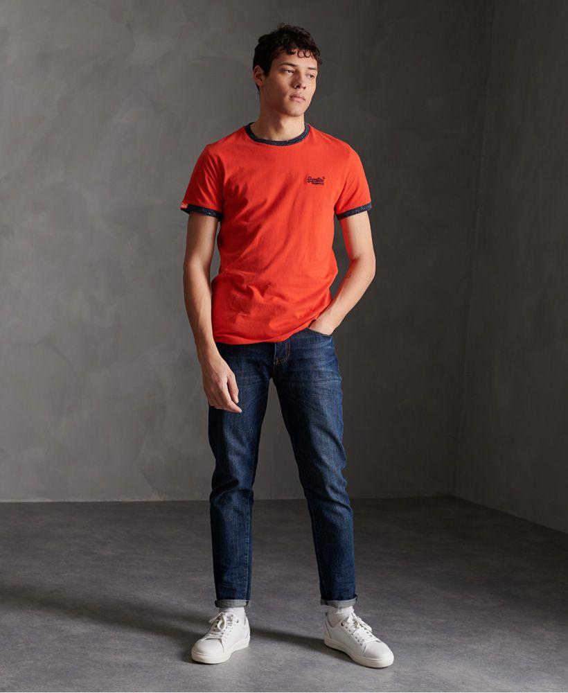 Superdry Organic Cotton Ringer T-Shirt