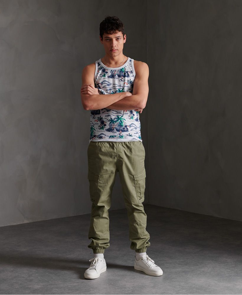 Superdry All Over Print Supply Vest Top