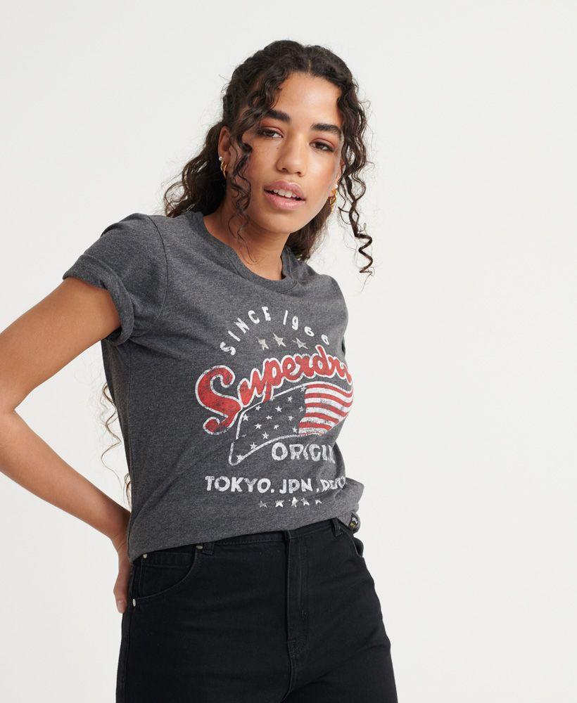 Superdry American Star Flag T-Shirt