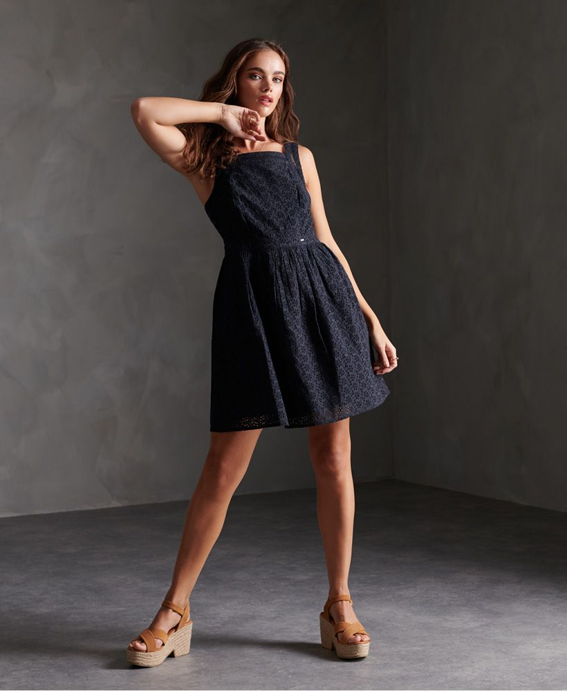 Superdry Blaire Broderie Dress