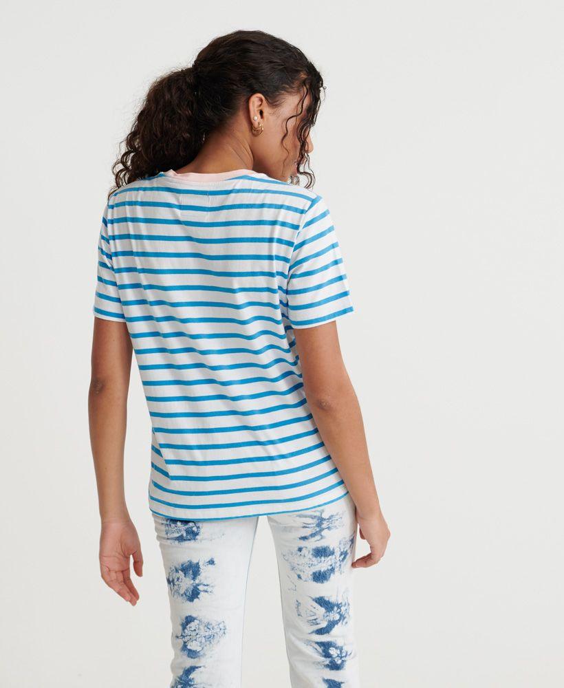 Superdry Dakota Stripe Graphic T-Shirt