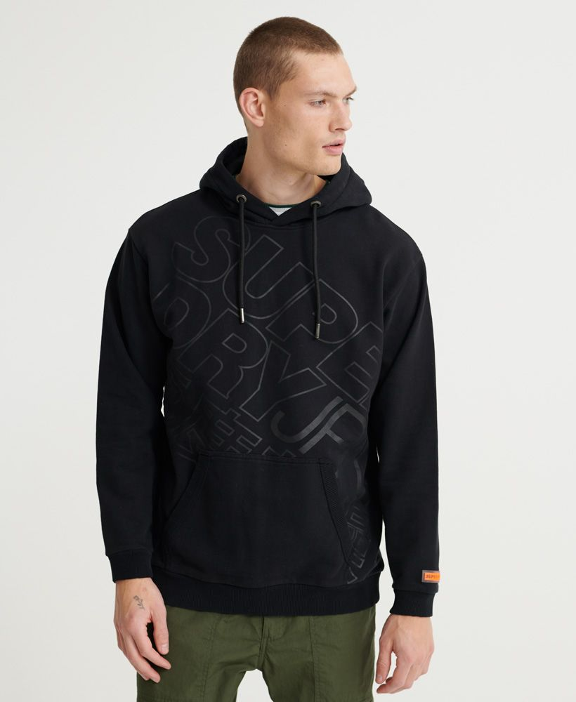Superdry City Neon Oversized Unbrushed Hoodie