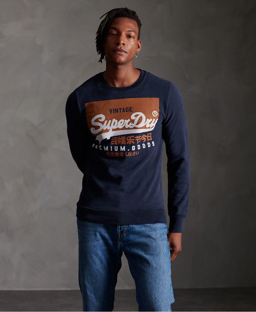 Superdry Organic Cotton Vintage Logo Crew Sweatshirt