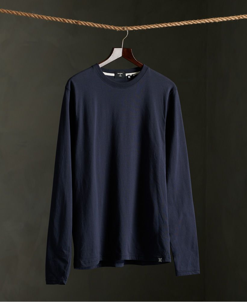 Superdry Organic Cotton Standard Label Long Sleeved Top