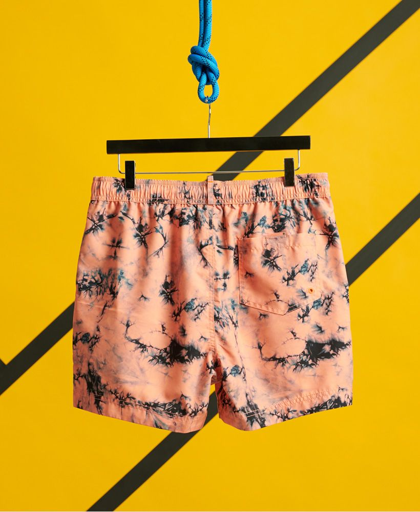 Superdry Tie Dye Volley Swim Shorts
