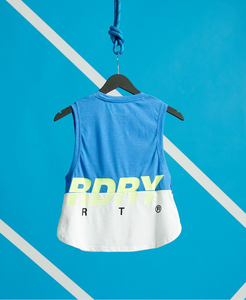 Superdry Training Graphic Block Vest Top