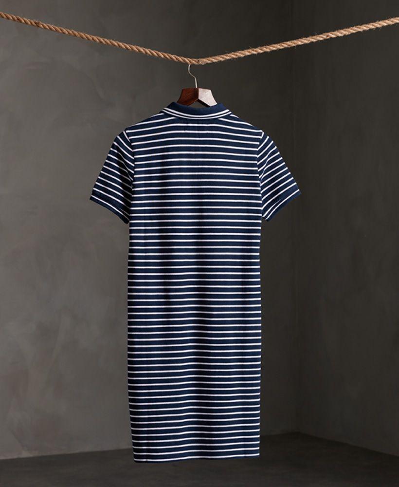 Superdry Organic Cotton Polo Dress