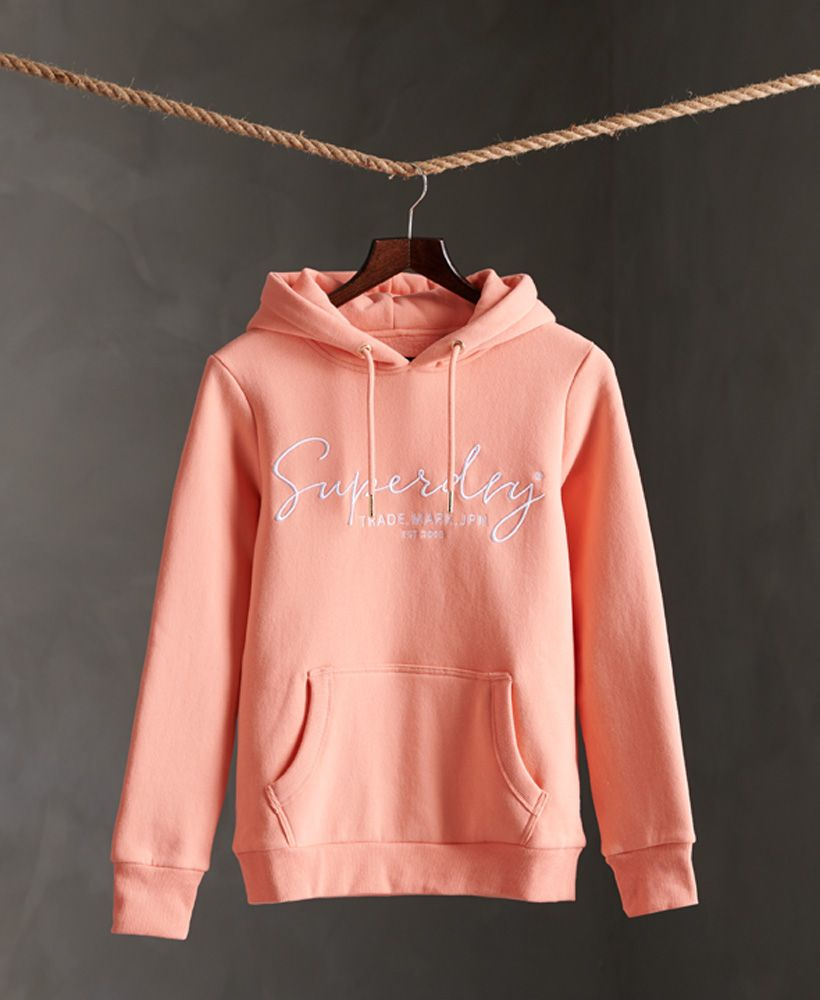 Superdry Alice Script Embroidered Hoodie