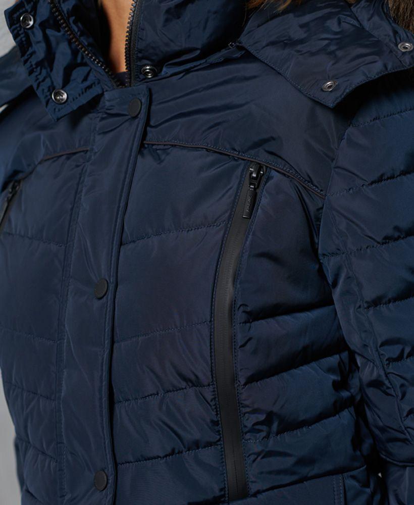 Superdry Longline Glacier Parka Coat