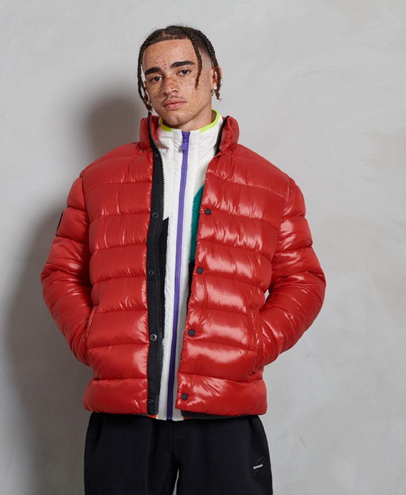 Superdry High Shine Quilted Puffer Jacket
