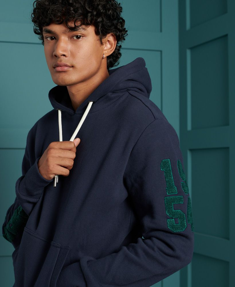 Superdry Track & Field Embroidered Hoodie