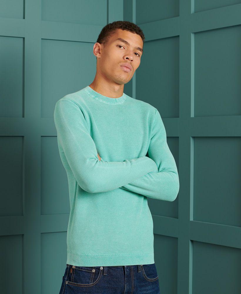 Superdry Textured Crew Sweatshirt