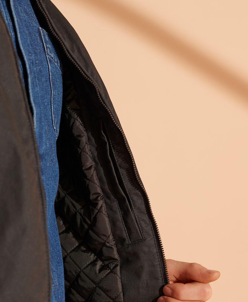 Superdry Wax Biker Jacket