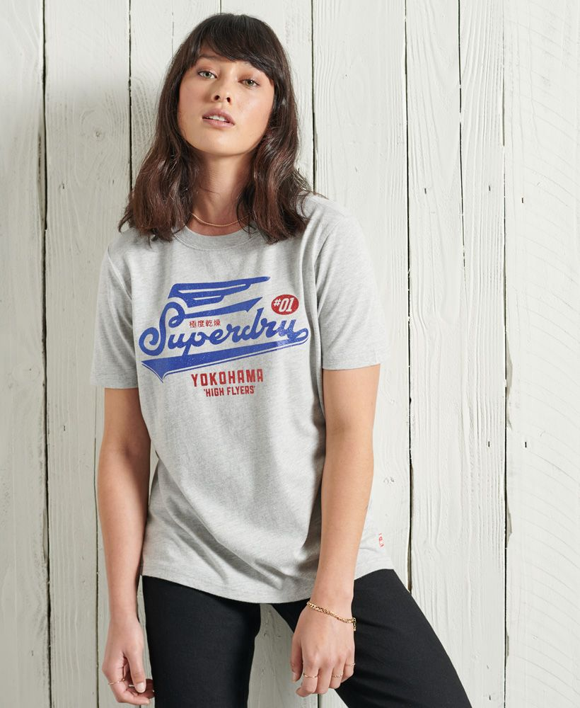 Superdry Americana Glitter T-Shirt