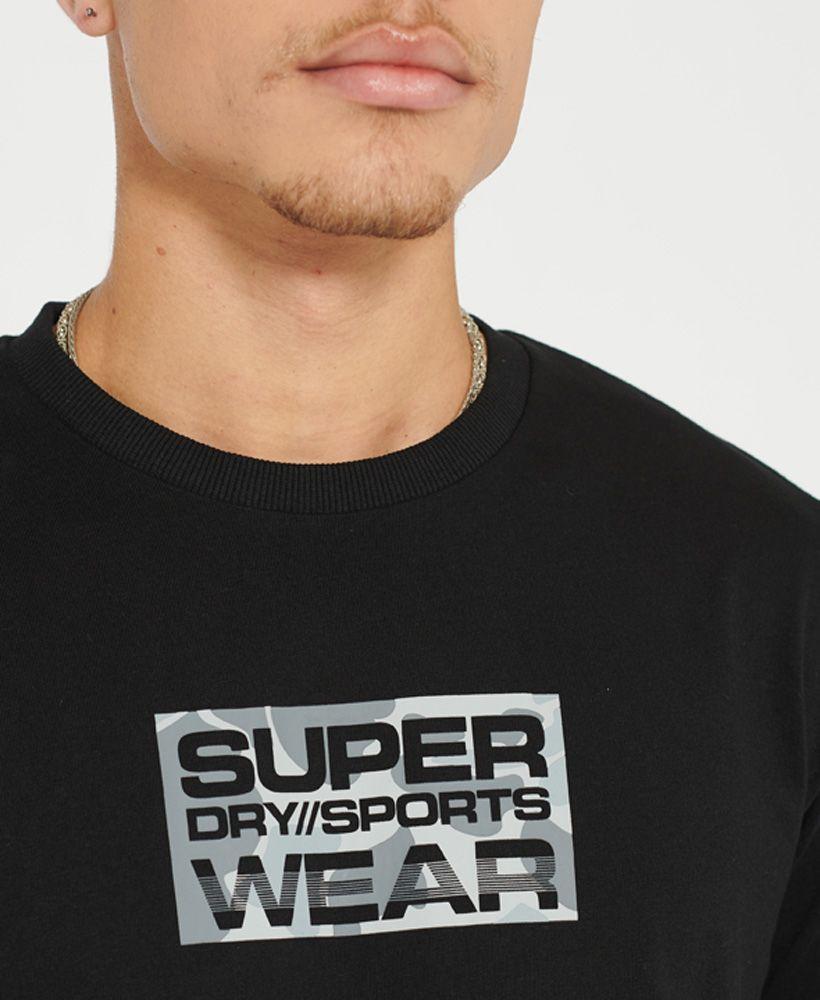 Sport Urban Camo Small Logo T-Shirt