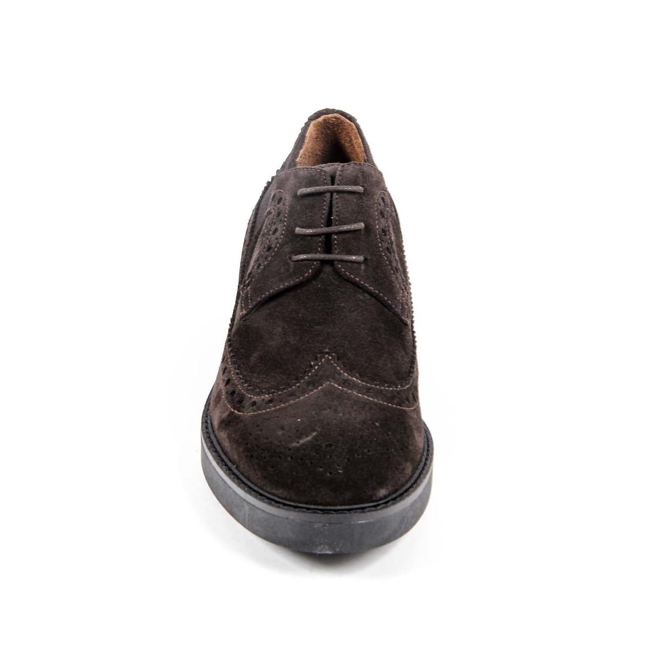 V 1969 Italia Women's Brogue Shoe B1670 VELOUR T. MORO
