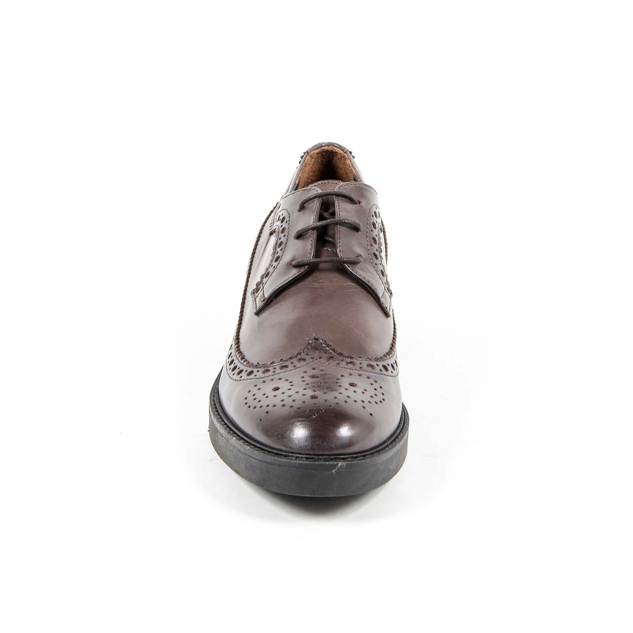 V 1969 Italia Women's Brogue Shoe B1670 VITELLO CEDAR