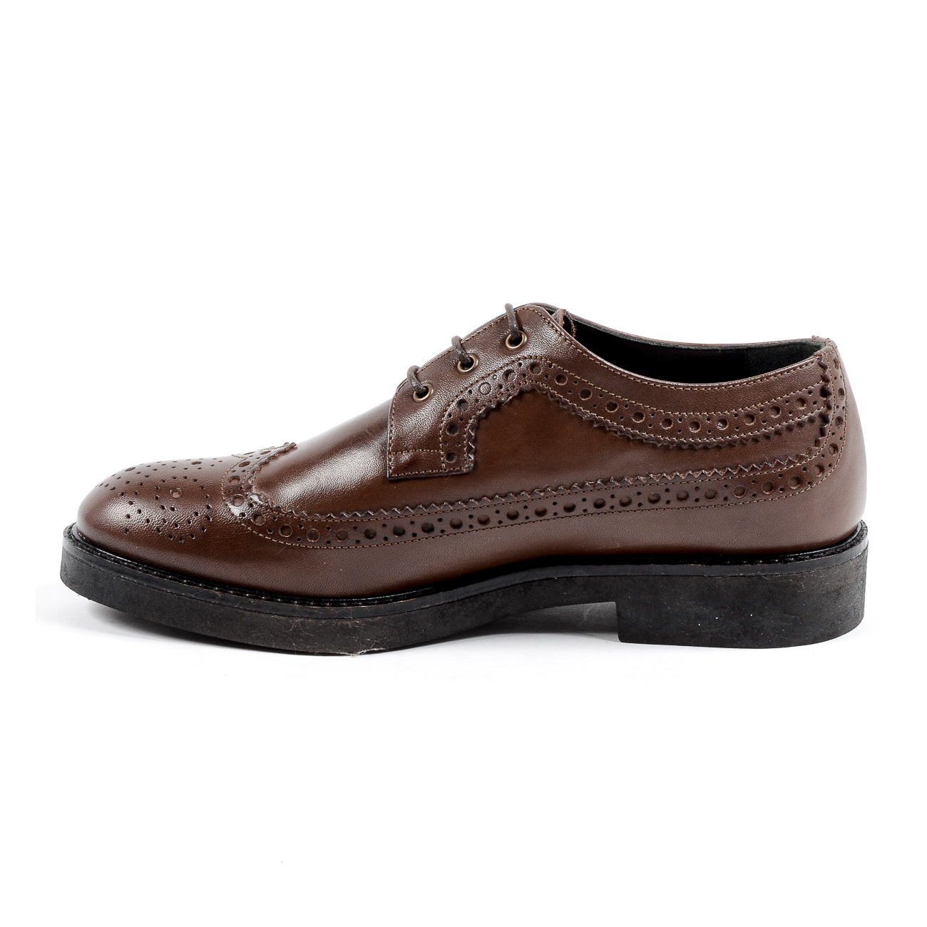 V 1969 Italia Womens Brogue Shoe Brown TRENTO