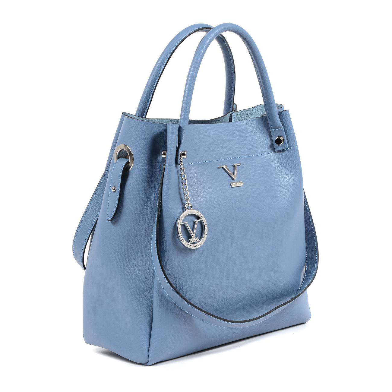 V 1969 Italia Womens Handbag Light Blue ALESSIA