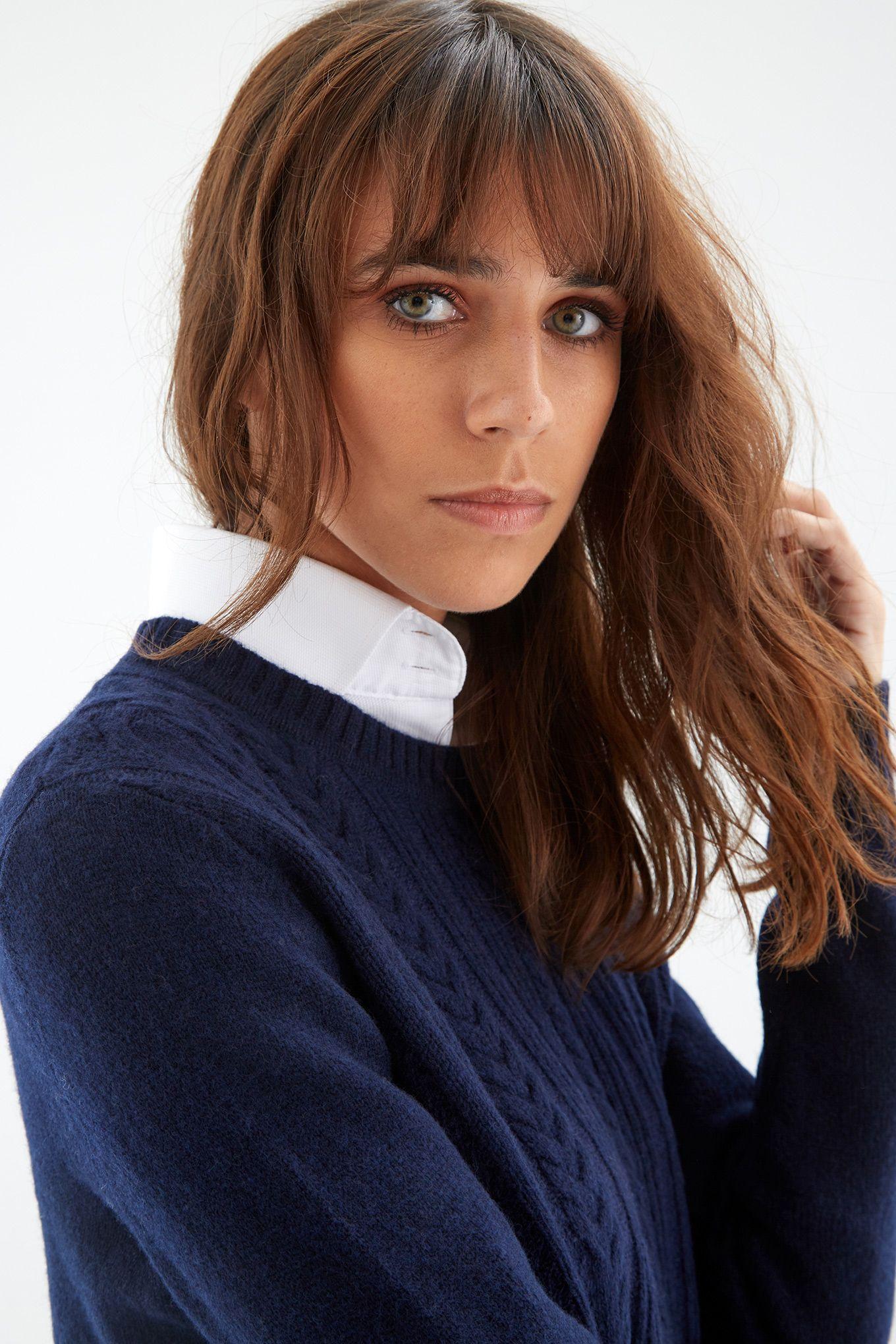 Women s Relaxed Knitwear Sweater
