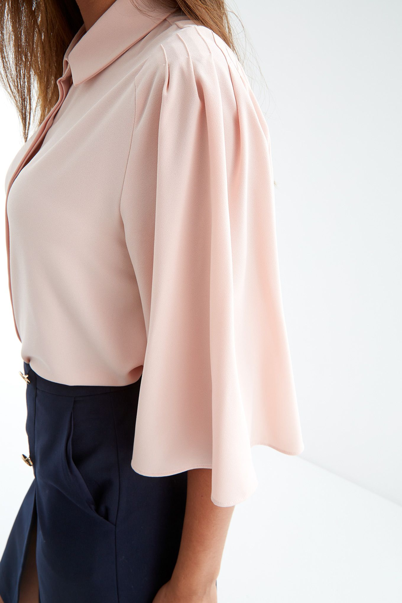 Women s Bell Sleeve Blouse