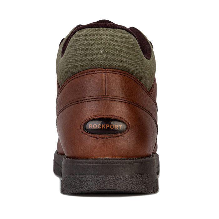 Men's Rockport XCS Marangue Treeline Hiker Boots in Dark Brown