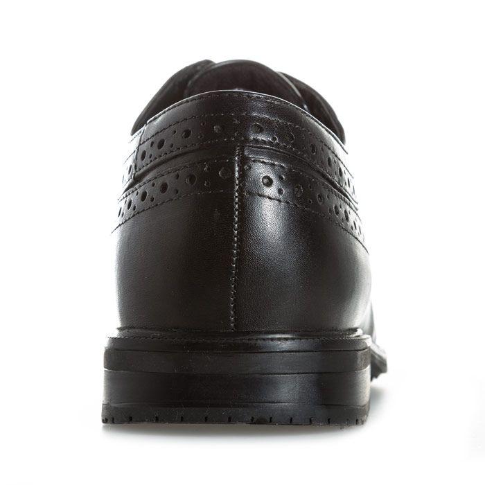 Men's Rockport Essential Details Wing Shoe in Black
