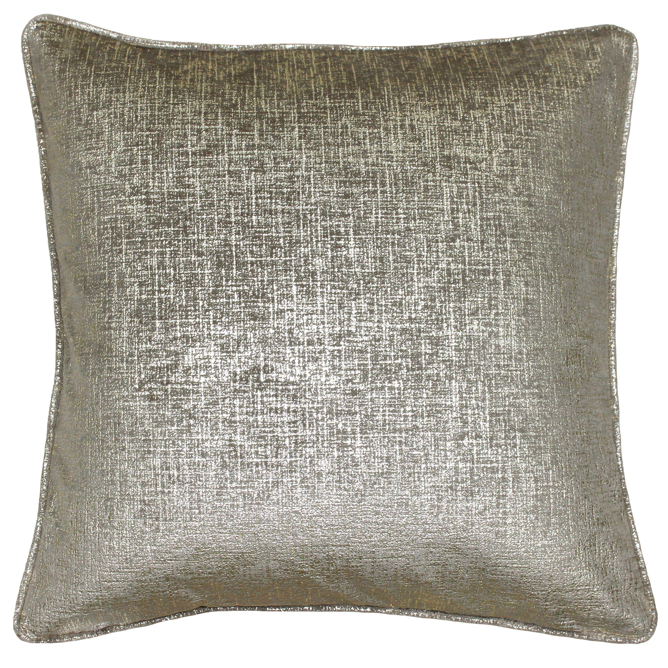 Venus 45X45 Poly Cushion Taupe/Gold