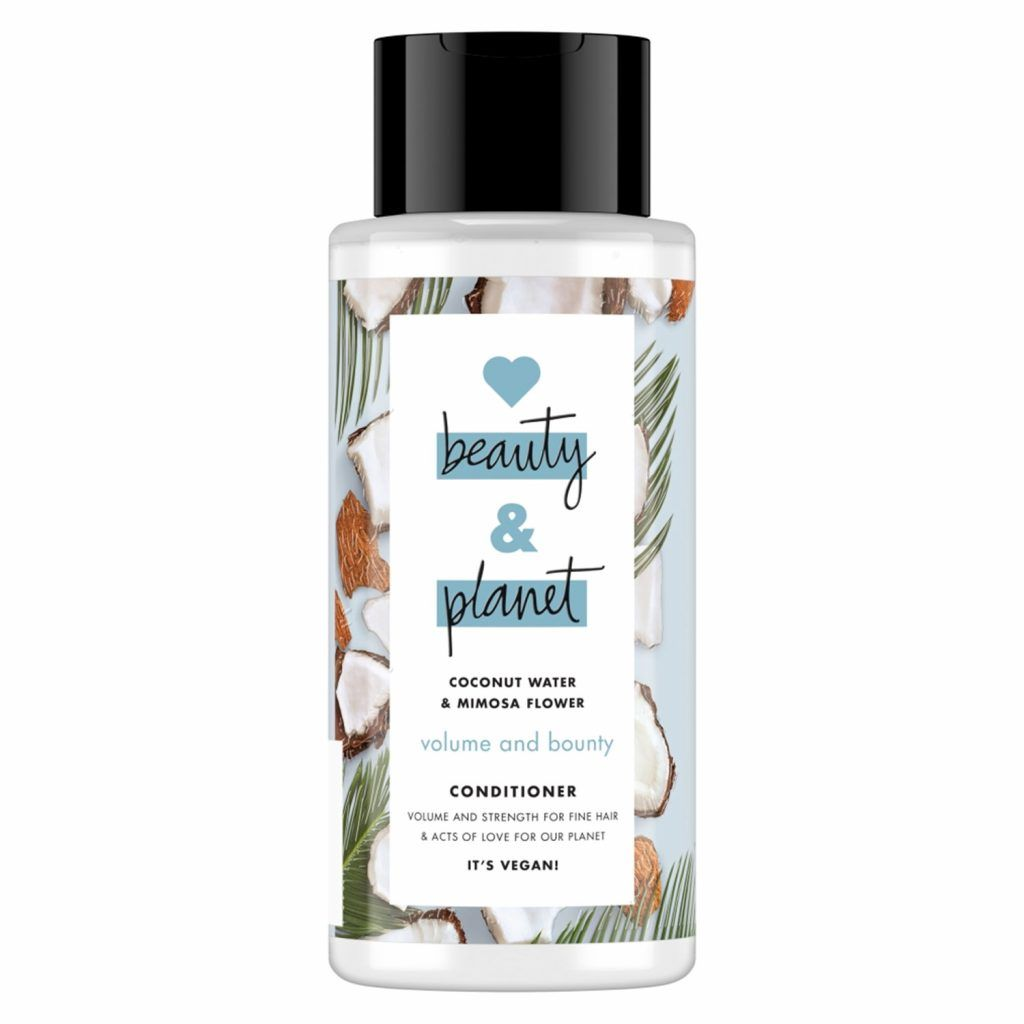 Love Beauty & Planet Volume and Bounty Coconut Water & Mimosa Flower Conditioner 400ml (Pack of 3)
