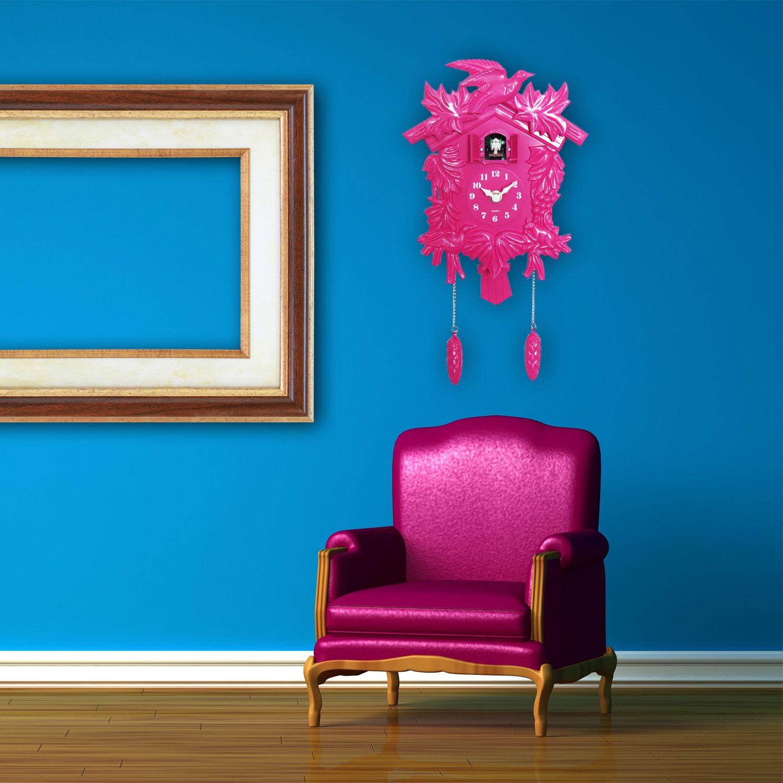 Cuckoo Clock in Pink