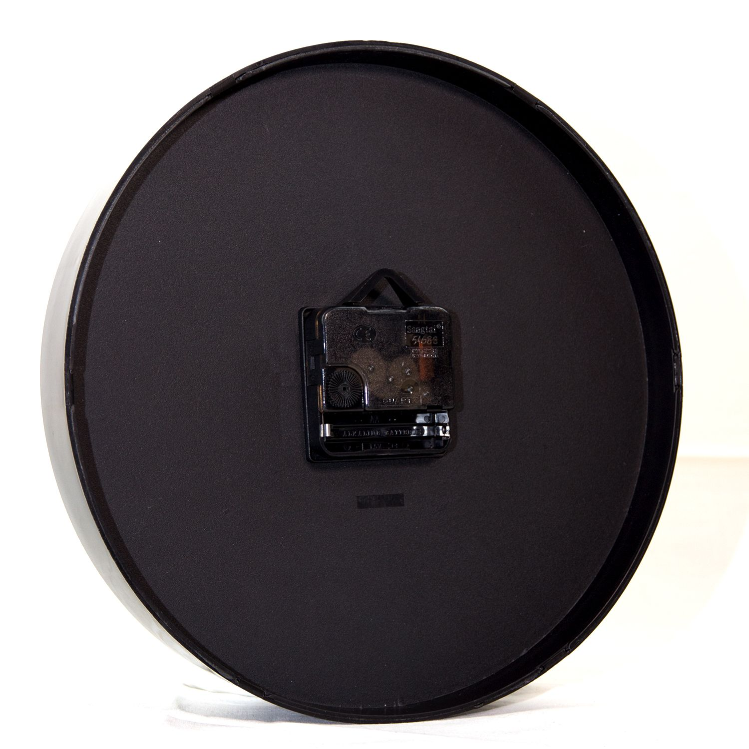 Walplus ChicTime Black 25cm Wall Clock Quality Silent Movement