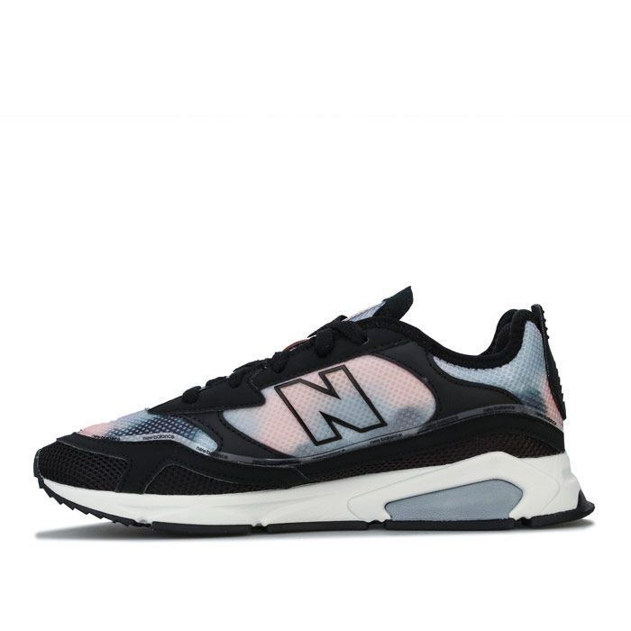Women's New Balance X Racer Trainers in Black
