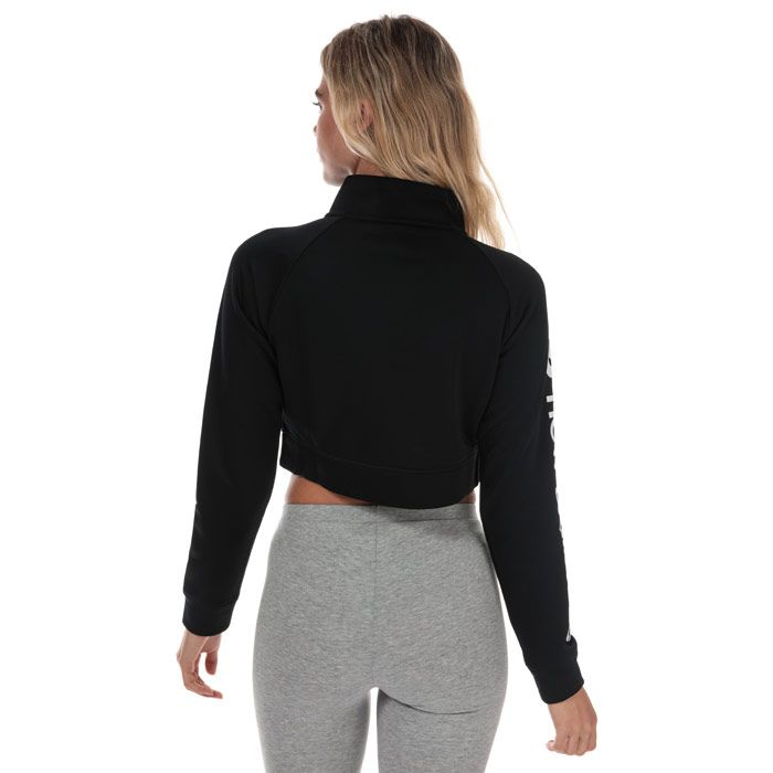 Women's New Balance Optiks Cropped Jacket in Black