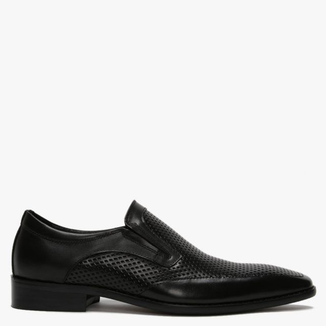 Daniel Xanthins Leather Laser Cut Loafers