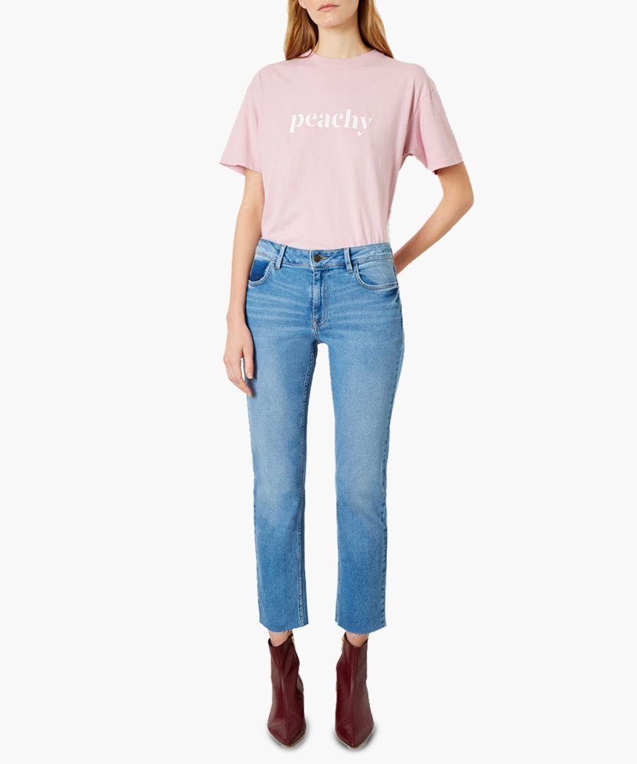 Radclyff light blue cotton slim jeans