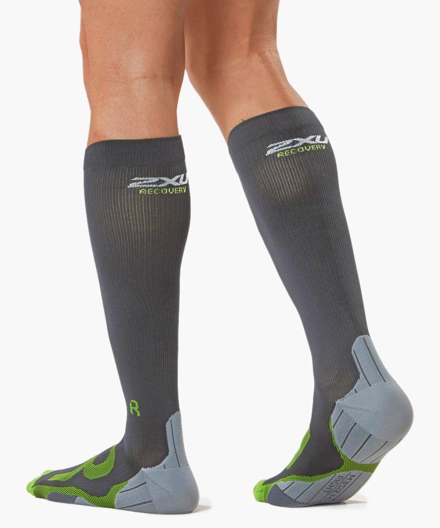 Recovery dark compression socks