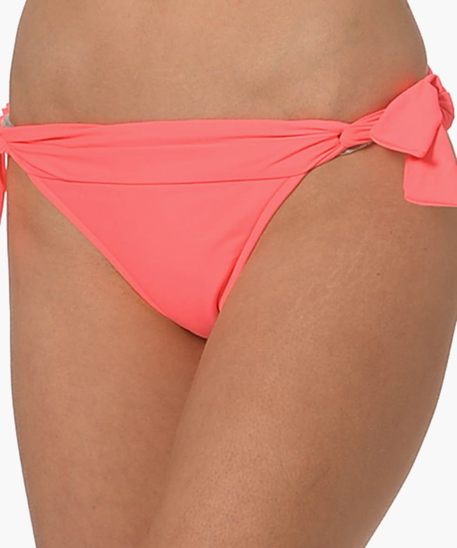 Redhot tie-side bikini briefs