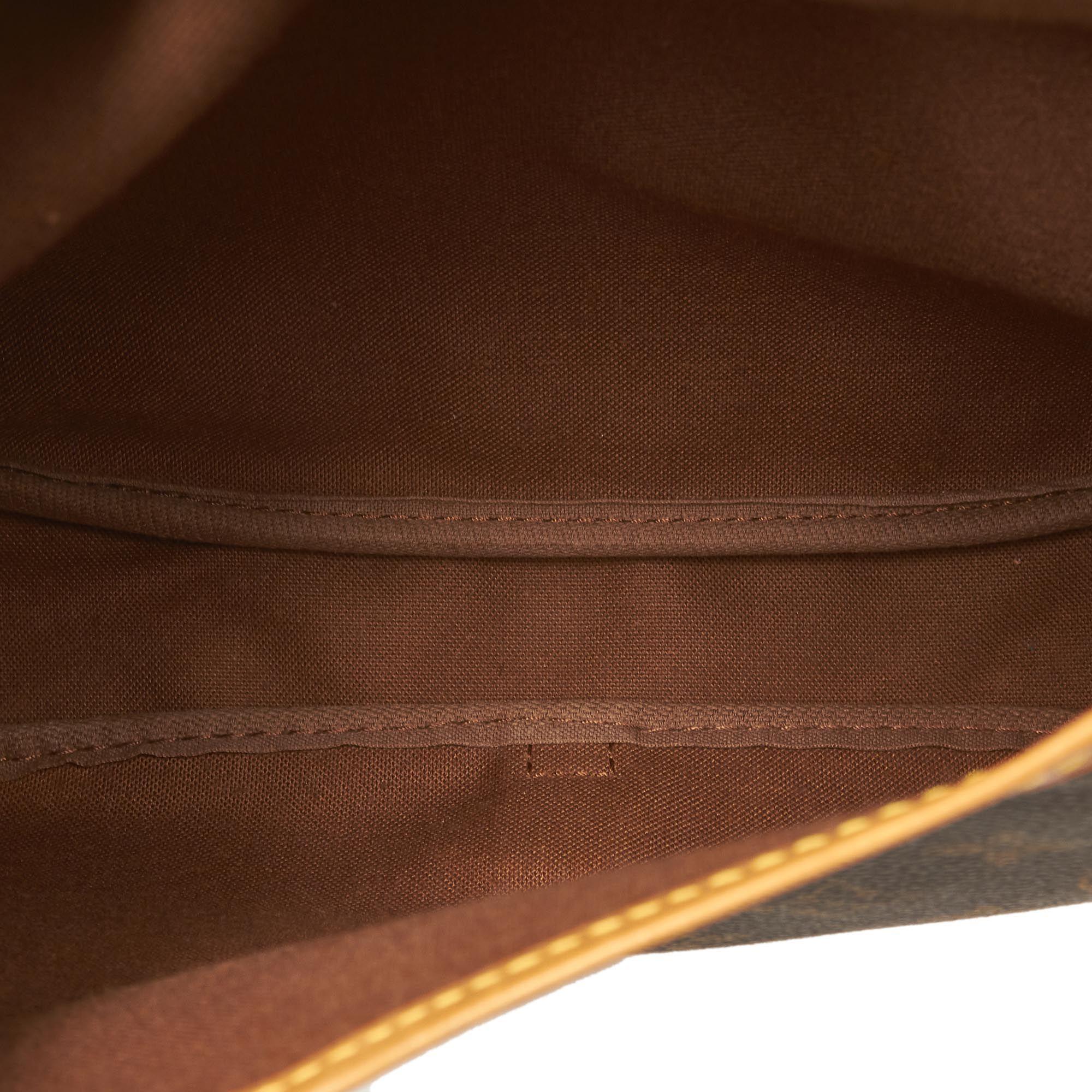 Vintage Louis Vuitton Monogram Saumur 30 Brown