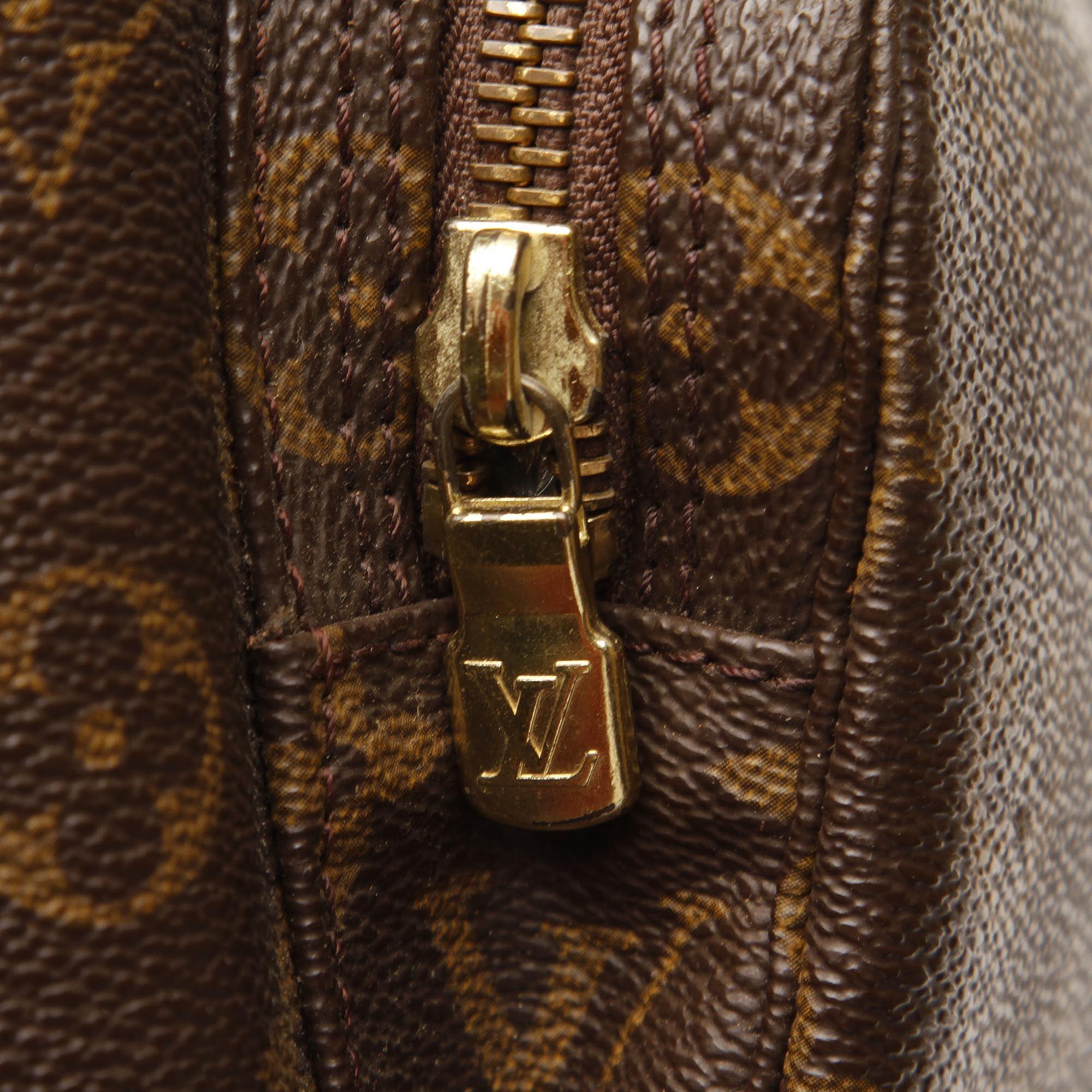 Vintage Louis Vuitton Monogram Montsouris GM Brown