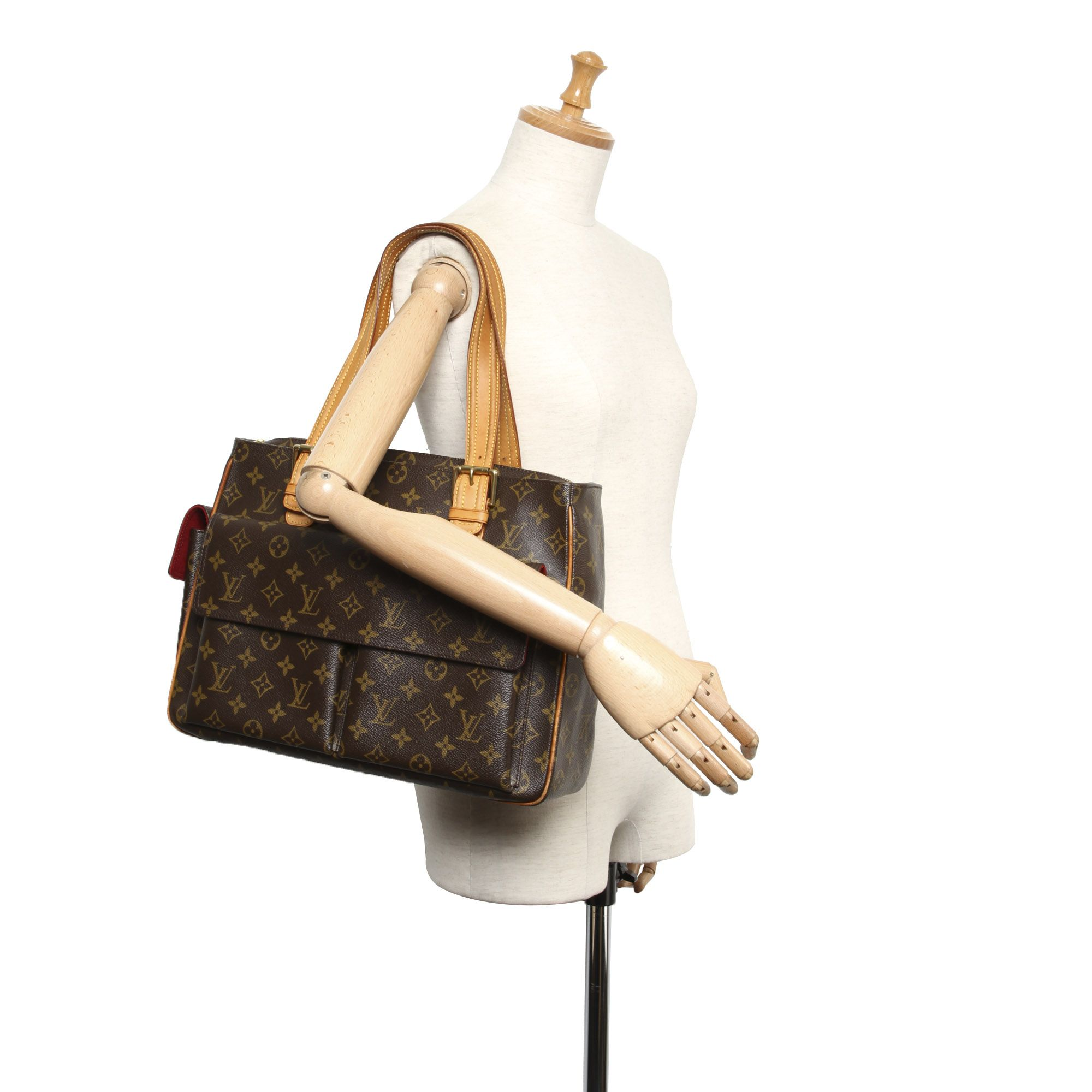 Vintage Louis Vuitton Monogram Multipli-Cite Brown